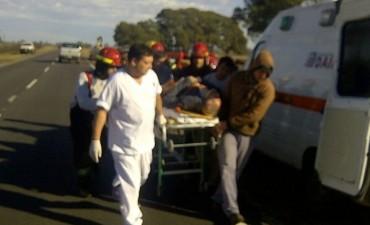 Daireaux: Un vuelco que terminó en tragedia y un robo a mano armada  en una carnicería
