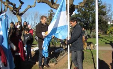 Día de la Bandera: Desde Pirovano se homenajeó al General Manuel Belgrano