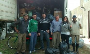 Cruzada Solidaria: Se cargó el camión que transportará las donaciones