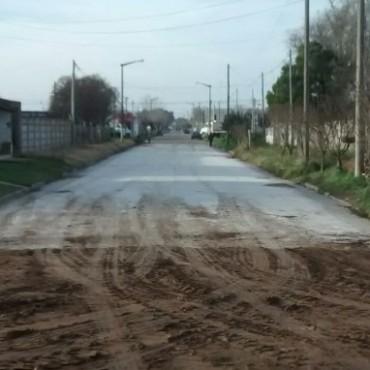 Pavimento Contínuo: Se habilitó la calle Laprida, y se continuará con el programa