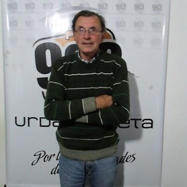 Daniel 'Ciruja' Diez: sufrió un choque en la ruta, pero sin consecuencias graves