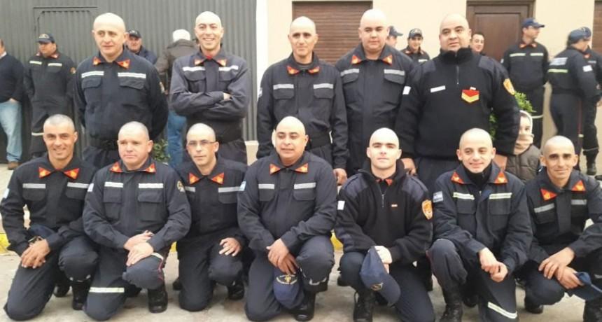 Los bomberos voluntarios de la localidad conmemoraron su día en un emotivo acto
