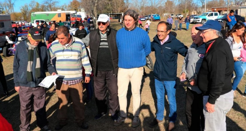 Marcos Pisano: 'El desafío del municipio es seguir trabajando y apoyando a instituciones que llegan a hacer escuela en las actividades deportivas'