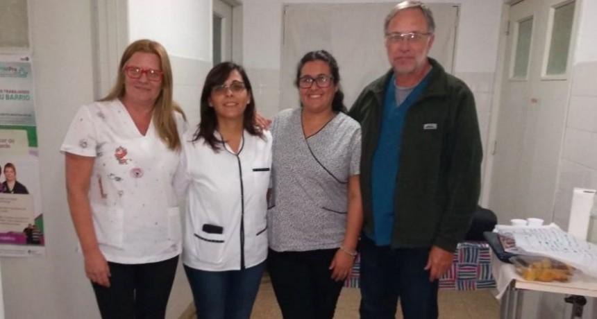 Se dio en el hospital Juana G de Miguens una charla sobre alimentación en los primeros meses de vida