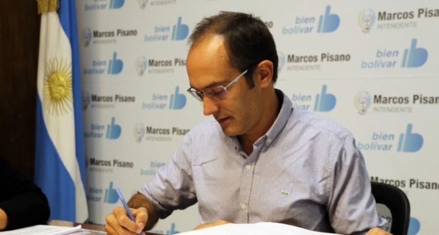 El Intendente Pisano adelanta el pago del aguinaldo a empleados municipales