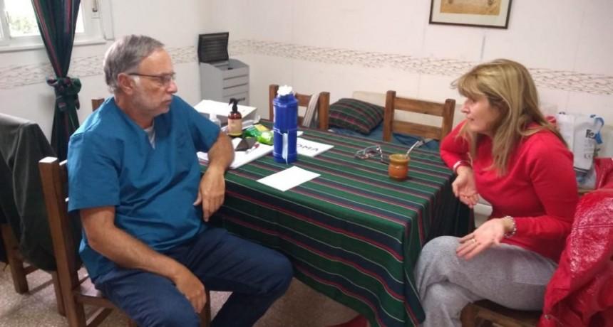 Bibiana Bonetti: 'Me encanta saber que lo que hemos donado es algo tan importante para las localidades'