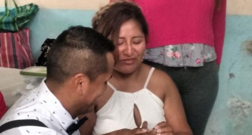 Casamiento en la Unidad N° 27