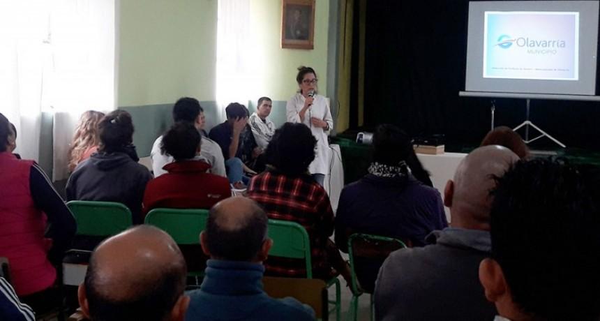 Se dictó una charla contra la homofobia en la Unidad N°2