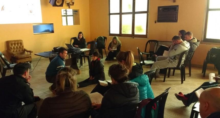 U.P; Jornada de capacitación para profesores educación física