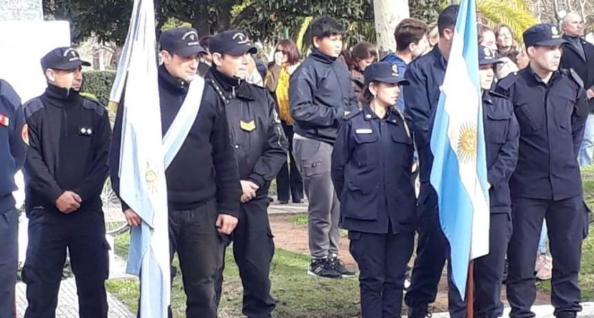 La Unidad 17 participó de los festejos por el Día de la Bandera