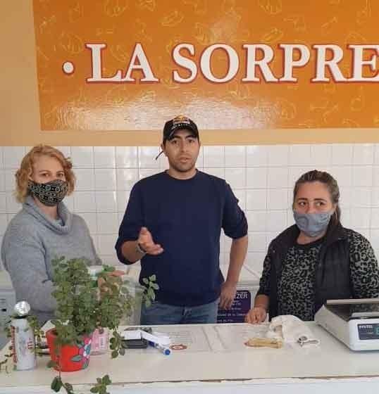 Pollajeria La Sorpresa comenzó a trabajar con Tarjeta Alimentar