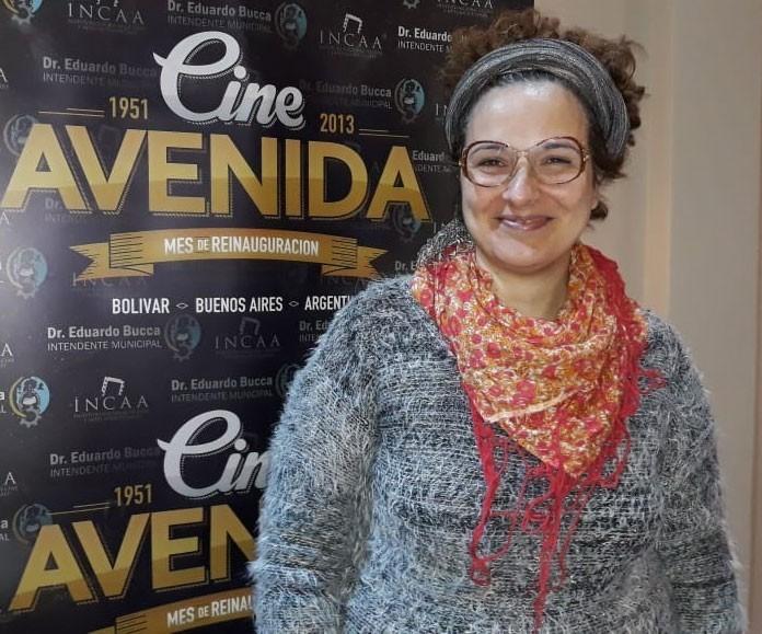 Nadia Marchione; 'Queremos que la gente siga cerca del cine con las puertas cerrada de la sala'