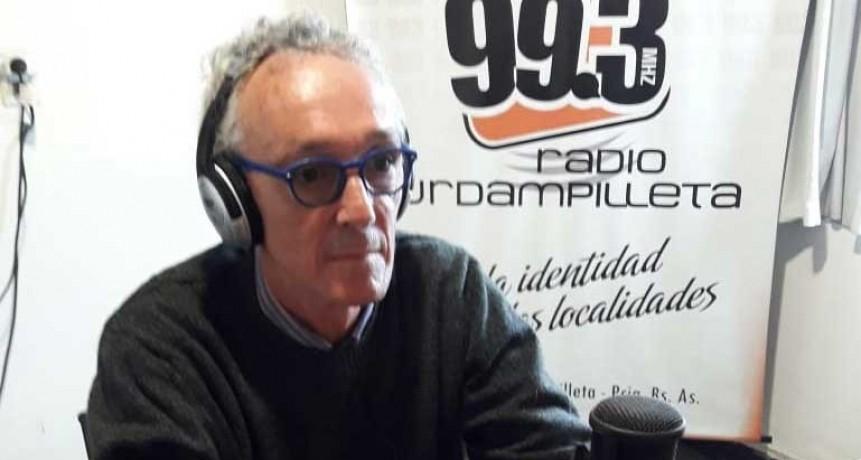 Fabián Marina; 'La gente de Urdampilleta está muy comprometida con cuidarnos en esta situación'