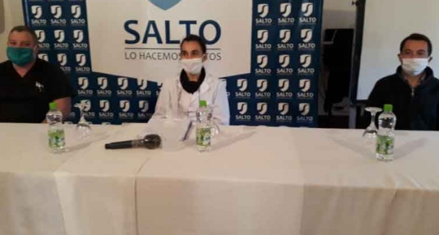 Salto; Con 8 nuevos casos de Coronavirus, el número de infectados asciende a 25