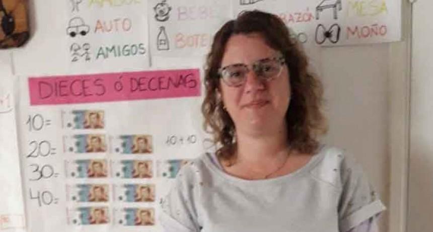 Georgina Schmoll; 'Es gratificante ver como las familias se comprometen con la educación de sus niños en esta situación y reconocen el trabajo docente'