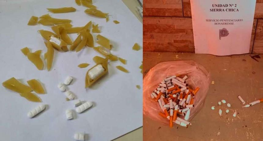 Papas, huevos, fideos y cigarrillos narcos, el ingenio no tiene límites