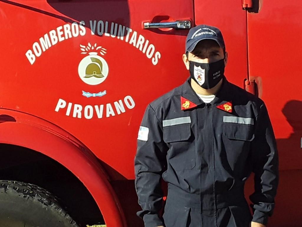 """Pablo Prieto: """"La idea de la fundación fue ayudar a los cuarteles vecinos, ellos necesitaban que Pirovano tuviera su propio cuerpo activo"""""""