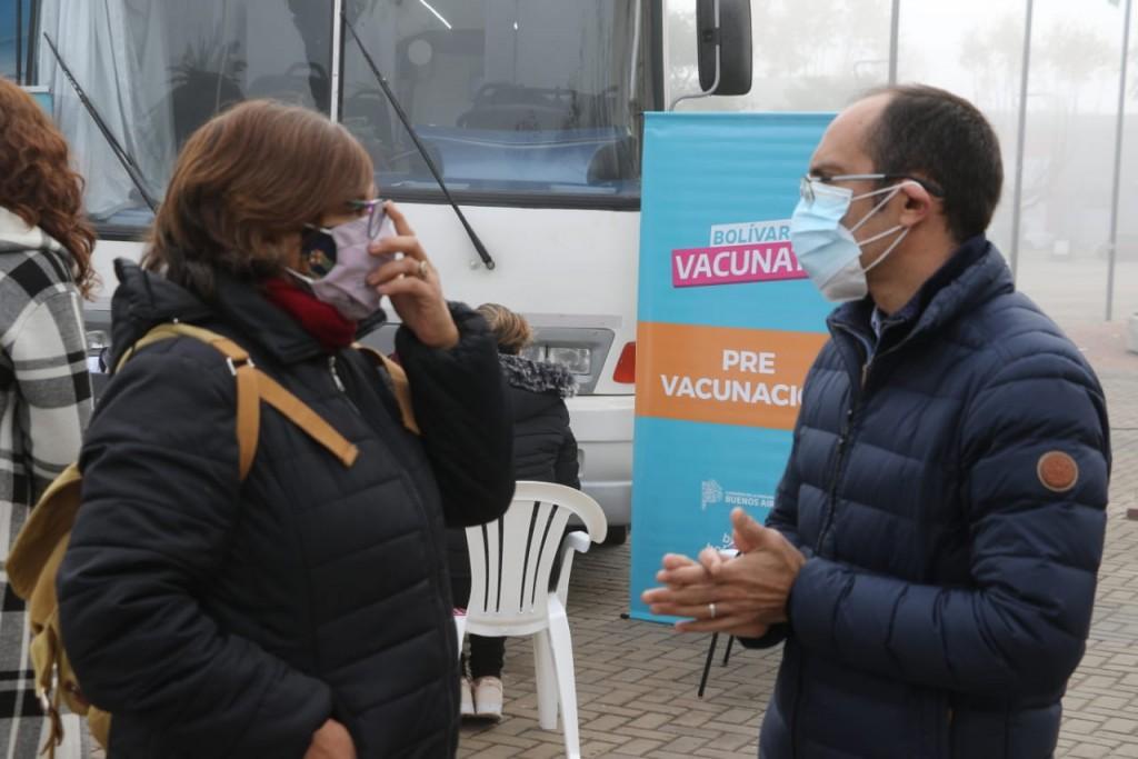 El Vacunatorio Movil llega a Urdampilleta y Pirovano