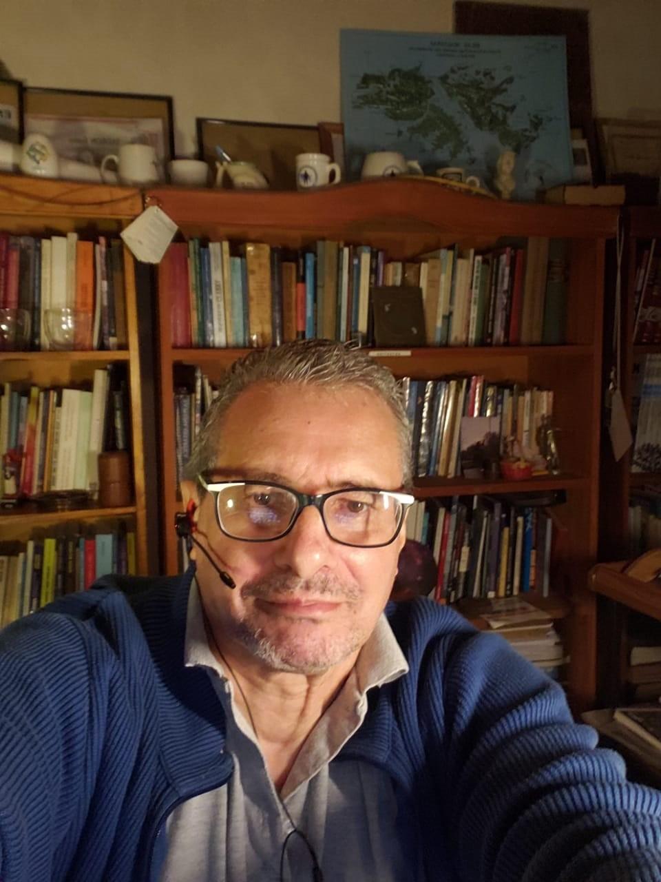 """Mario Volpe: """"No tuvimos tiempo de reflexionar, un día estaba en mi casa, al siguiente en el Regimiento y al subsiguiente volaba hacia Malvinas"""""""