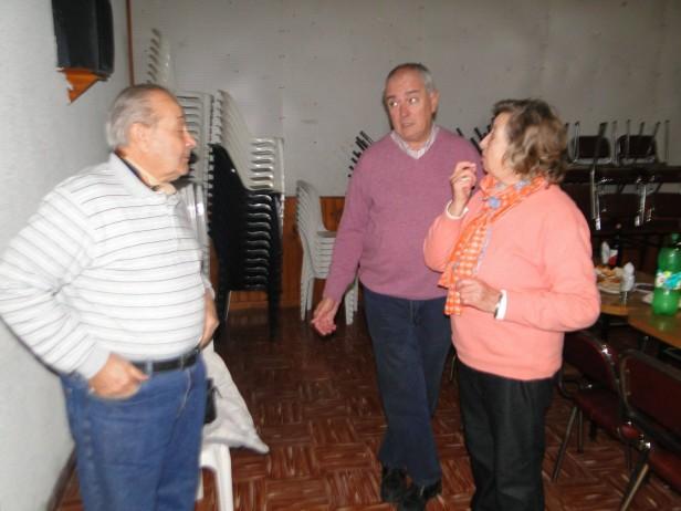El Centro de Jubilados de Urdampilleta incorporó un nuevo juego de tejo