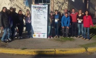 Lista 'Cambiemos Bolivar' recorrió las calles de Urdampilleta