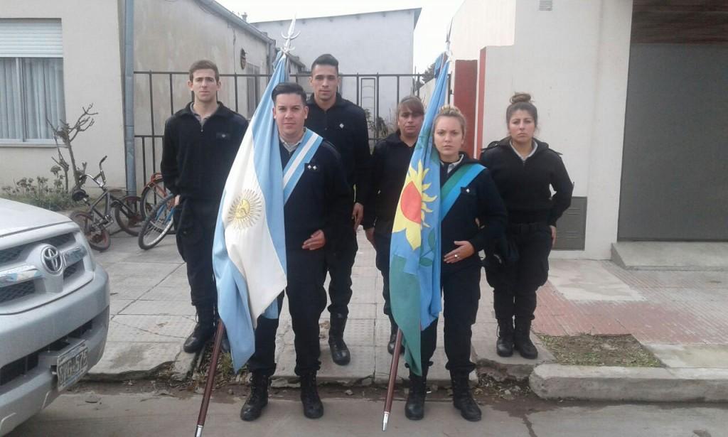 La Unidad Nº17 presente en el 105º Aniversario de Urdampilleta