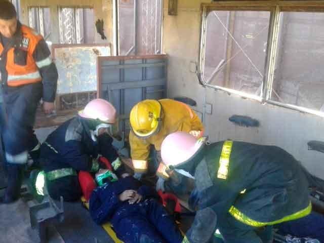 Informe oficial de Bomberos: Incendio total de una vivienda (foto de archivo)