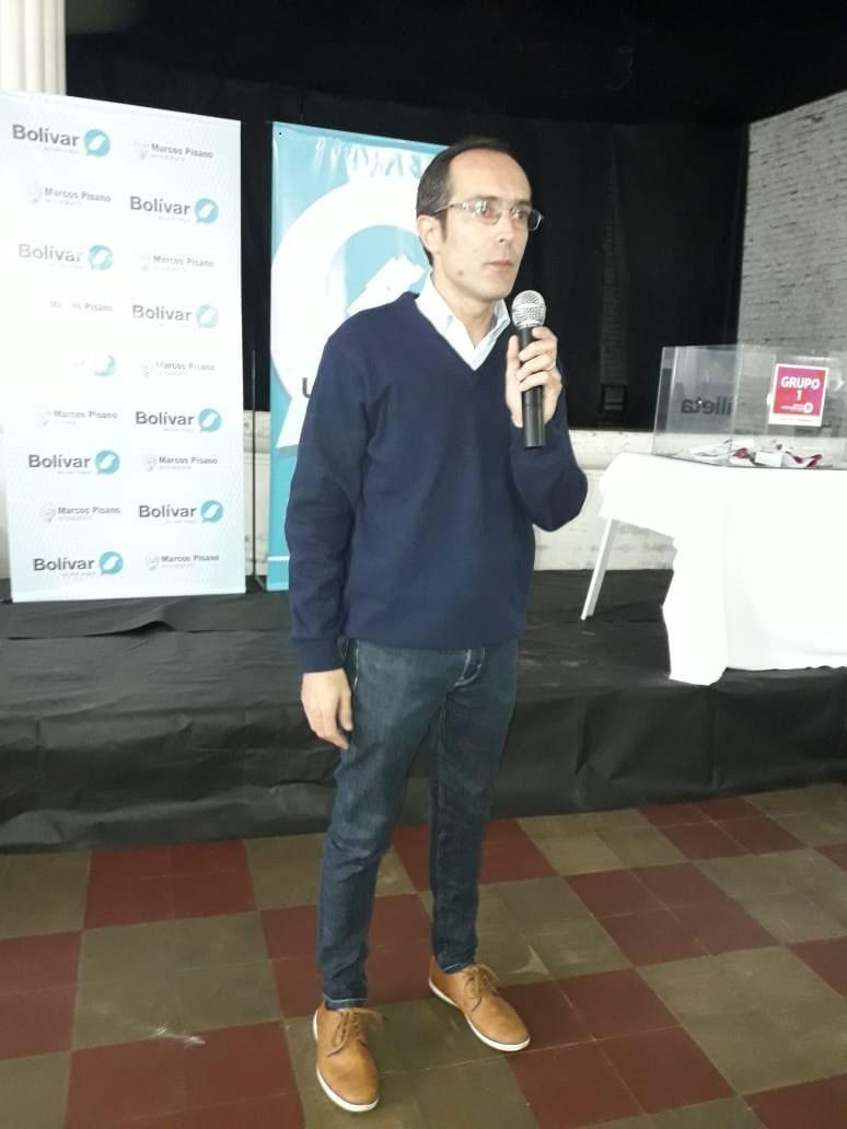 """Marcos Pisano: """"La mejor huella que podemos dejar los dirigentes son los hechos que le permitan a la gente desarrollarse"""""""
