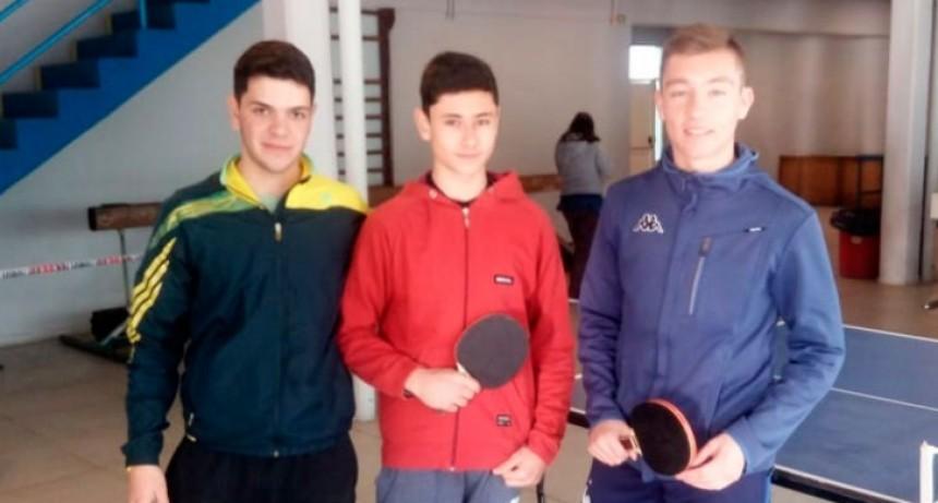 El tenis de mesa tuvo dos finalistas urdampilletense en la etapa local