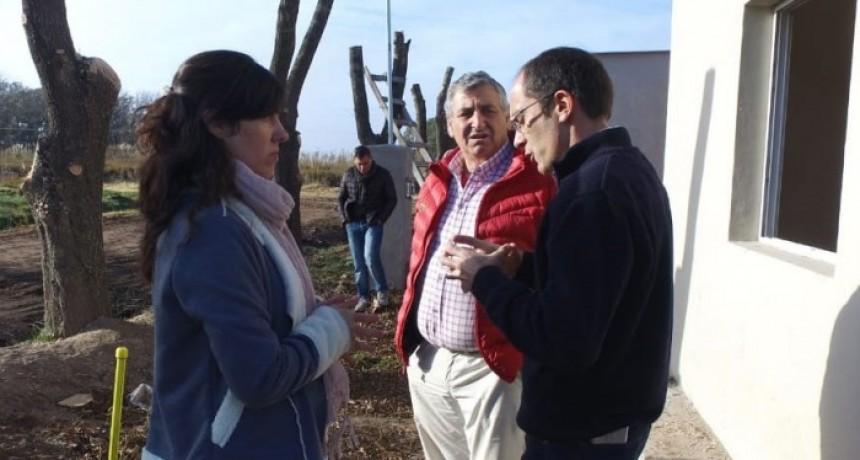 Pisano anunció el sorteo de las viviendas de Urdampilleta