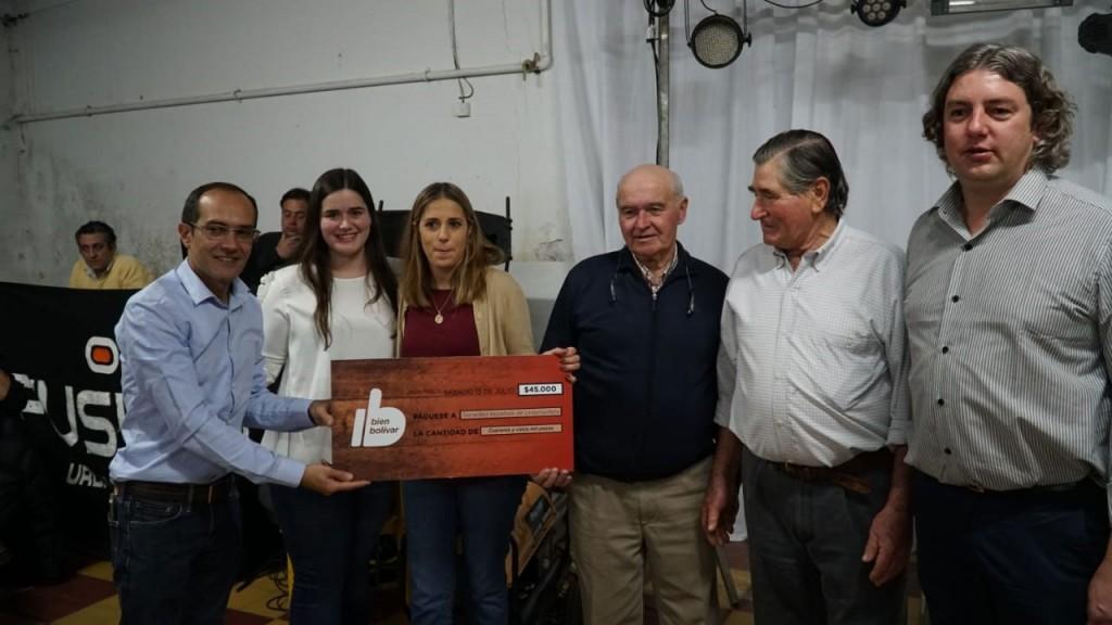El Intendente Marcos Pisano participó de diferentes eventos en Urdampilleta