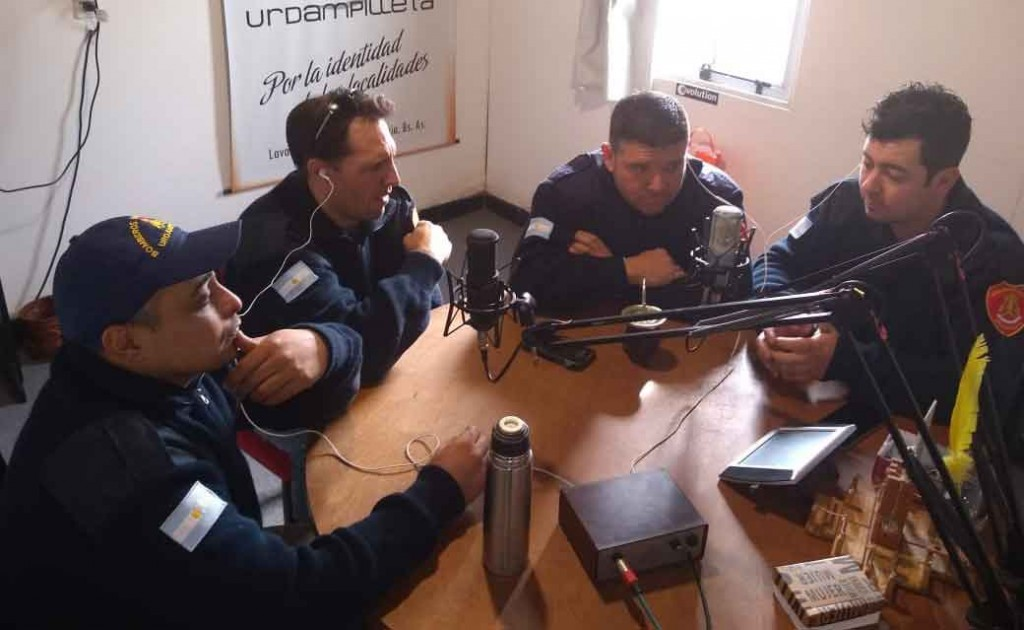 Bomberos de Urdampilleta fueron parte de una importante capacitación en Daireaux