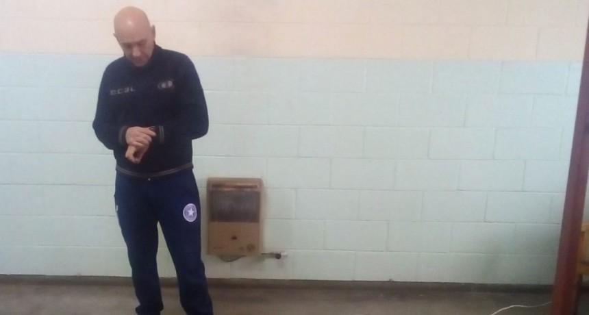 Evaluación física al personal de la Unidad 38