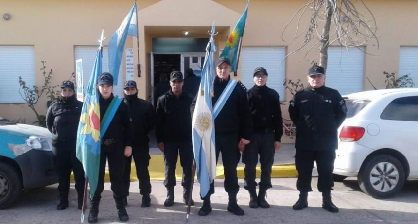 La Unidad Nº17 presente en el 106º aniversario de Urdampilleta