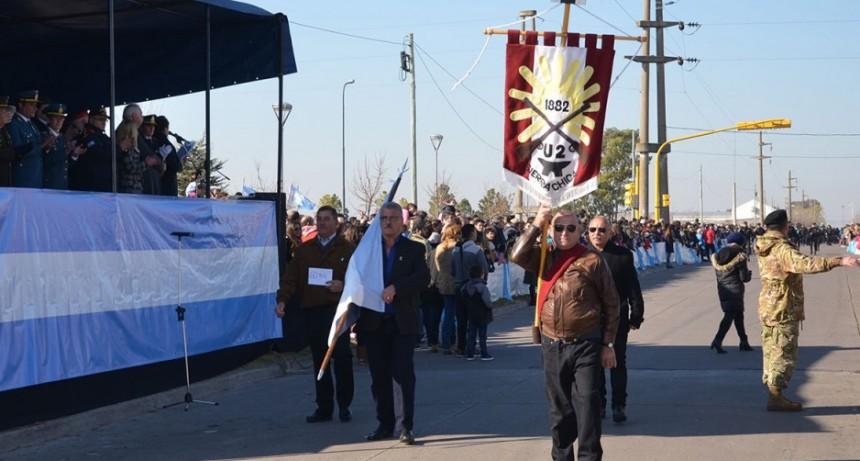 El Complejo Penitenciario Centro Sur participó en los actos centrales del 9 de Julio en Olavarría