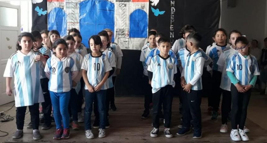 La EP N.º 22 celebró el Día de la Independencia