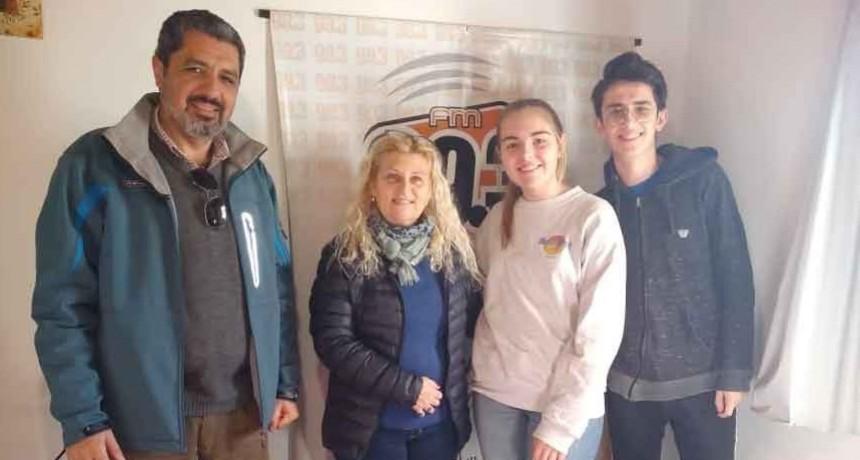Cambio de autoridades en Interact y Rotary Club Urdampilleta