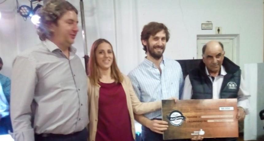 Alberto Barrena fue el ganador de la 12° Fiesta del Chorizo Seco en Urdampilleta