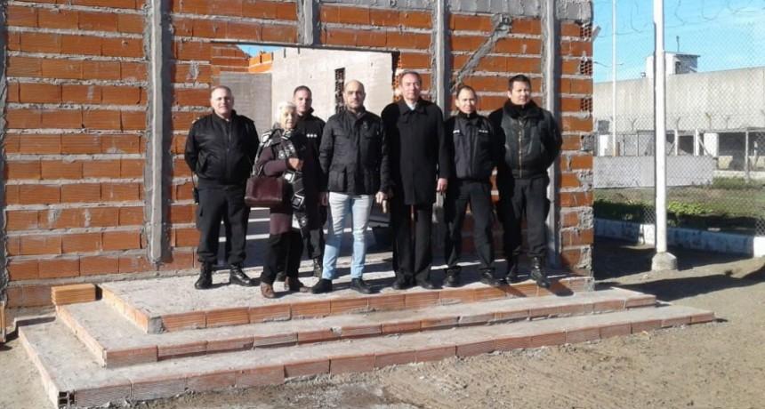 Avanza la construcción de la Capilla en la Unidad N° 17