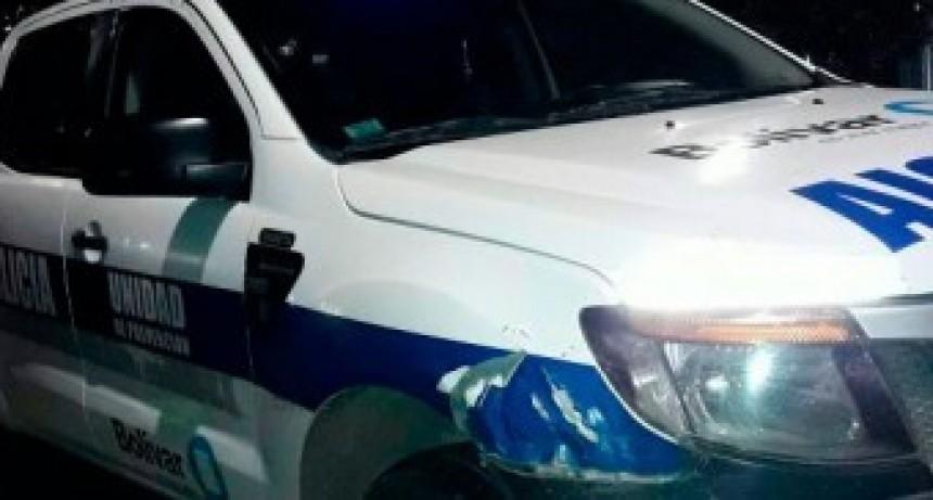 Incidente de transito entre dos camiones en Ruta 65 sin mayores consecuencias