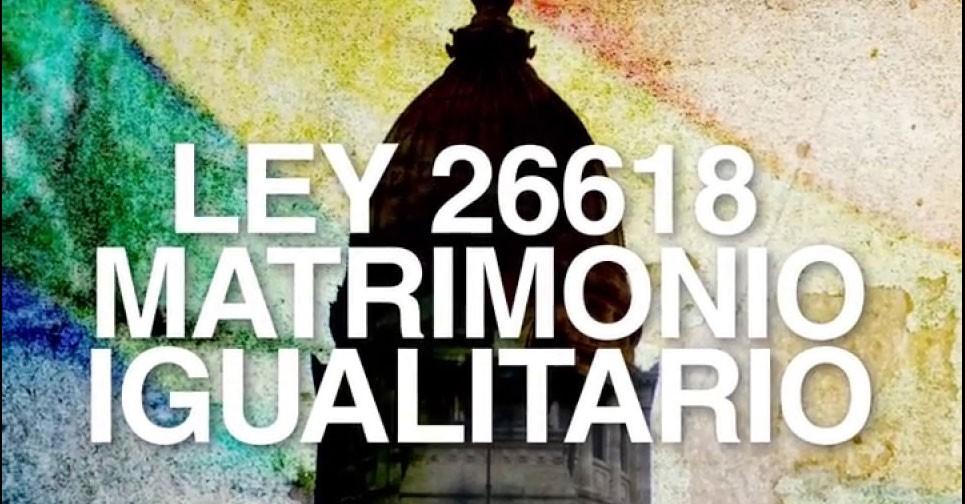 Se cumplen 10 años de la ley de Matrimonio Igualitario