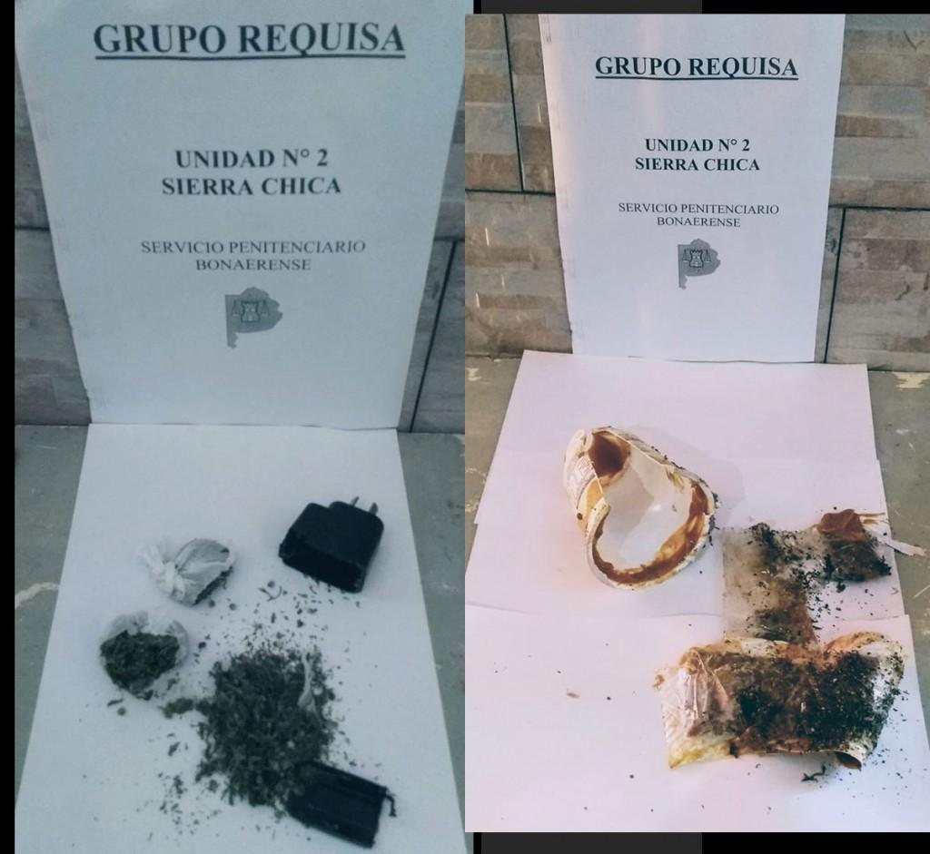 Sierra Chica: intentaron ingresar droga a la cárcel en saquitos mate cocido