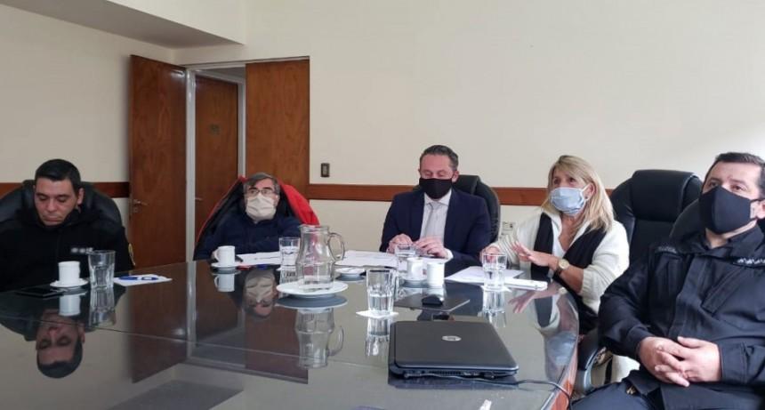 Encuentro virtual provincial para supervisar las medidas de bioseguridad en contexto de encierro por el Covid-19