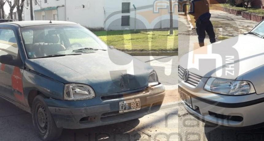 Dos personas hospitalizadas a modo preventivo tras un impacto en Laprida y Carlos Pellegrini
