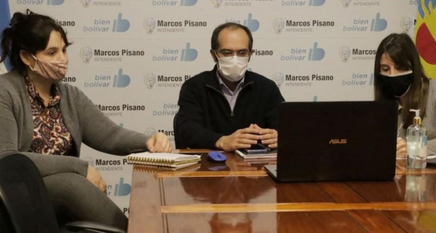 Pisano participó de la presentación del programa Comunidades sin Violencia
