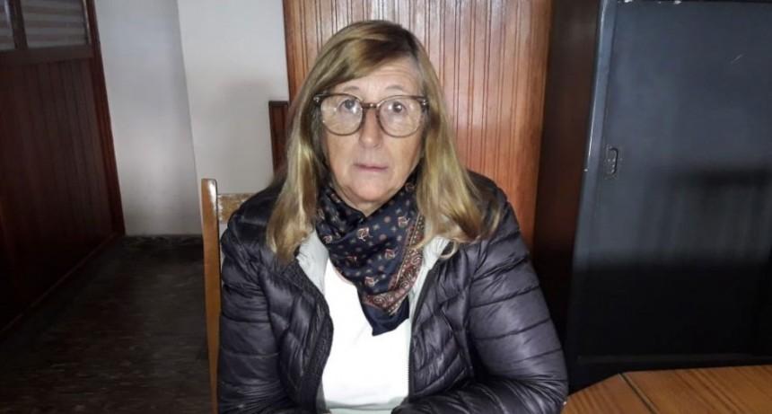 Mirta Chourrout; 'Todos los gestos que la gente de la comunidad para con el hospital son validos de destacar'