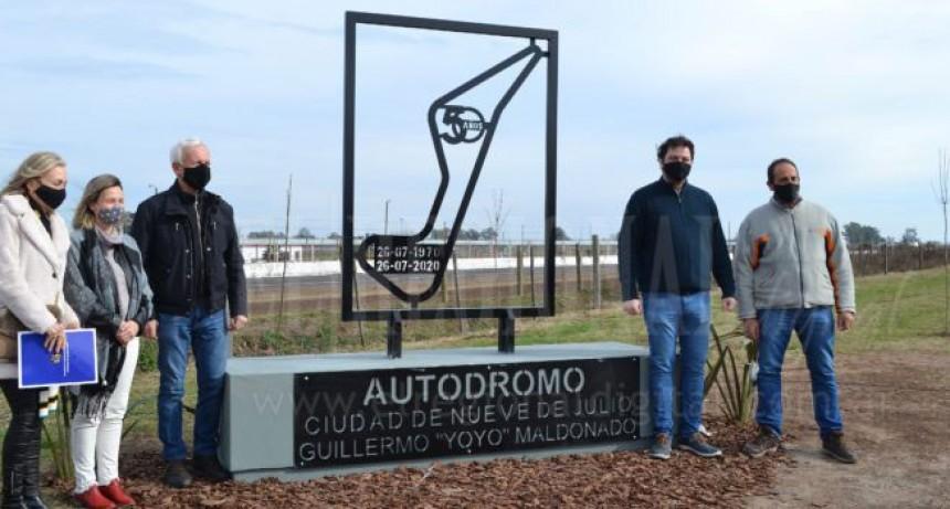 9 de Julio; En el 50° Aniversario del autódromo de la ciudad se dejó impuesto el nombre de Guillermo 'Yoyo' Maldonado