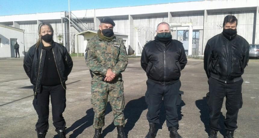El Subdirector General de Resolución de Incidentes visitó la Unidad Nº17