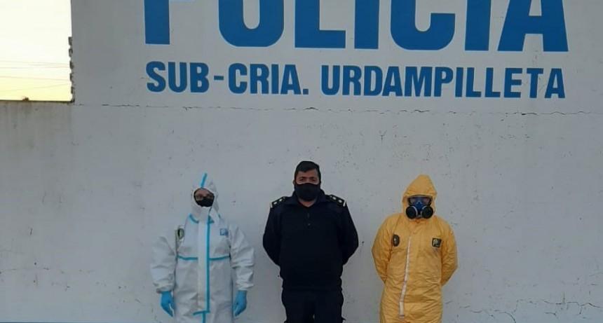 Policia Ecológica recorrió las instalaciones de la Sub Comisaria de la localidad
