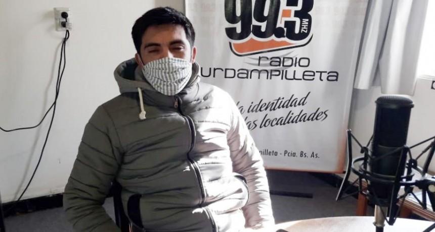 Franco Navarro; 'Estamos contentos porque vemos que el centro ayuda y va en muy buen camino'